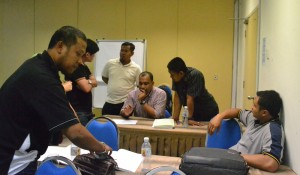 AWE Candidates in Brainstorming session May 2014